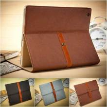 "7.9"" Western Retro Business Belt Leather Case for iPad Briefcase Classic Stand Smart Cover for iPad mini1 iPad mini2 iPad mini3(China)"