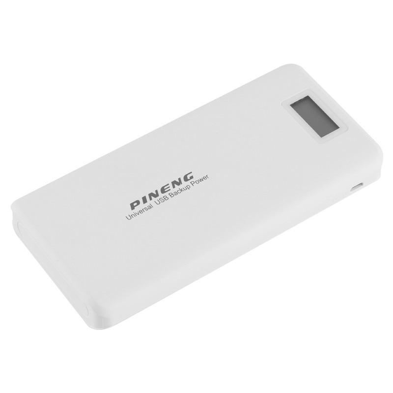 PN999 PINENG 20000mAh External Battery Power Bank Portable Charger 20000mAh Power Bank Quick Charging for Samsung Xiaomi Mobiles