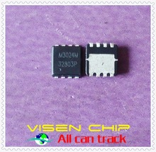 10pcs QM3024M3  QM3024M  M3024M   3MM*3MM  QFN8 MOSFET(Metal Oxide Semiconductor Field Effect Transistor)