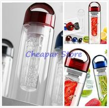 Best 700mL Portable Leak-proof Unbreakable Sport Travel Fruit Kettle Water Bottle Cycling Camping Drink Bottle 3 Colours(China)