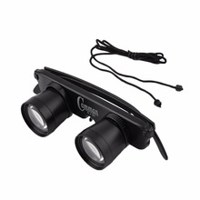 Portable Fishing 3x28 Magnifier Glasses Outdoor Optics Binoculars Telescope Fish Eyeglass Eyewear HD Night Vision Scope Object