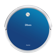 Dibea Intelligent Ultra Thin Mute Sweep Floor Robot Vacuum Cleaner Home Fully Automatic Mop Wipe Ground Cleaners Free Shipping(China)