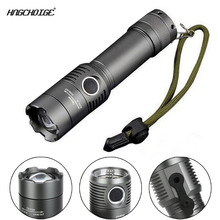 HNGCHOIGE Tactical Police Heavy Duty 2000LM LED Rechargeable Flashlight 18650 / AAA Torch