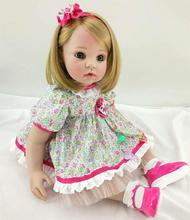 "Pursue 24""/60 cm Fashion Handmade Reborn Baby Girl Dolls for Sale Lifelike Toddler Baby Dolls for Girls Birthday Christmas Gift(China)"