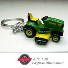 Deere 4410 tractor keychain personalized mobile phone chain simulation model bag pendant An Act ERTL
