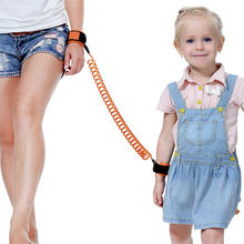 1Pc Baby Kids Safety Harness Toddler Child Leash Anti Lost Wrist Link Infant Traction Rope Free shipping