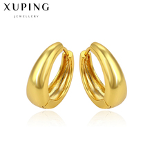 Simple round circle small hoop earrings for women bijoux 2017 new trendy jewelry earings gold color Statement jewellery C017277