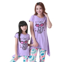Mother and Daughter Clothing Sets Summer Family Set Clothes For Parent-Child Family Clothes