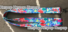 10Pcs Cartoon mermaid princess Neck Straps Lanyards Mobile Phone,ID Card,Key Condole belt girl lovely kids gifts