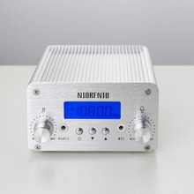 Free Shipping Wholesale High Quality Stereo FM Transmitter 1/6w NIO-T6A FM Radio Transmitter for Radio Station(China)