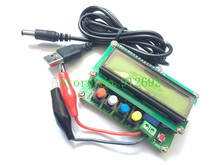 Free shipping! LC100-A Digital LCD High Precision Inductance Capacitance L/C Meter capacitor Test Instruments