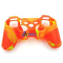 New fashion soft silicone gel skin protective case for playstaion 3 ps3 controller