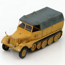 HM 1/72 World War II Germany HG5105 Sd.Kfz.11 Half-track armored vehicles model 21st Panzer 1944 Favorites Model(China)