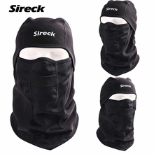 Sireck Winter Fleece Cycling Cap Bike Mask Windproof Cycling Head Scarf Balaclava Bandana Sport Ski Running Bicycle Neck Hat(China)
