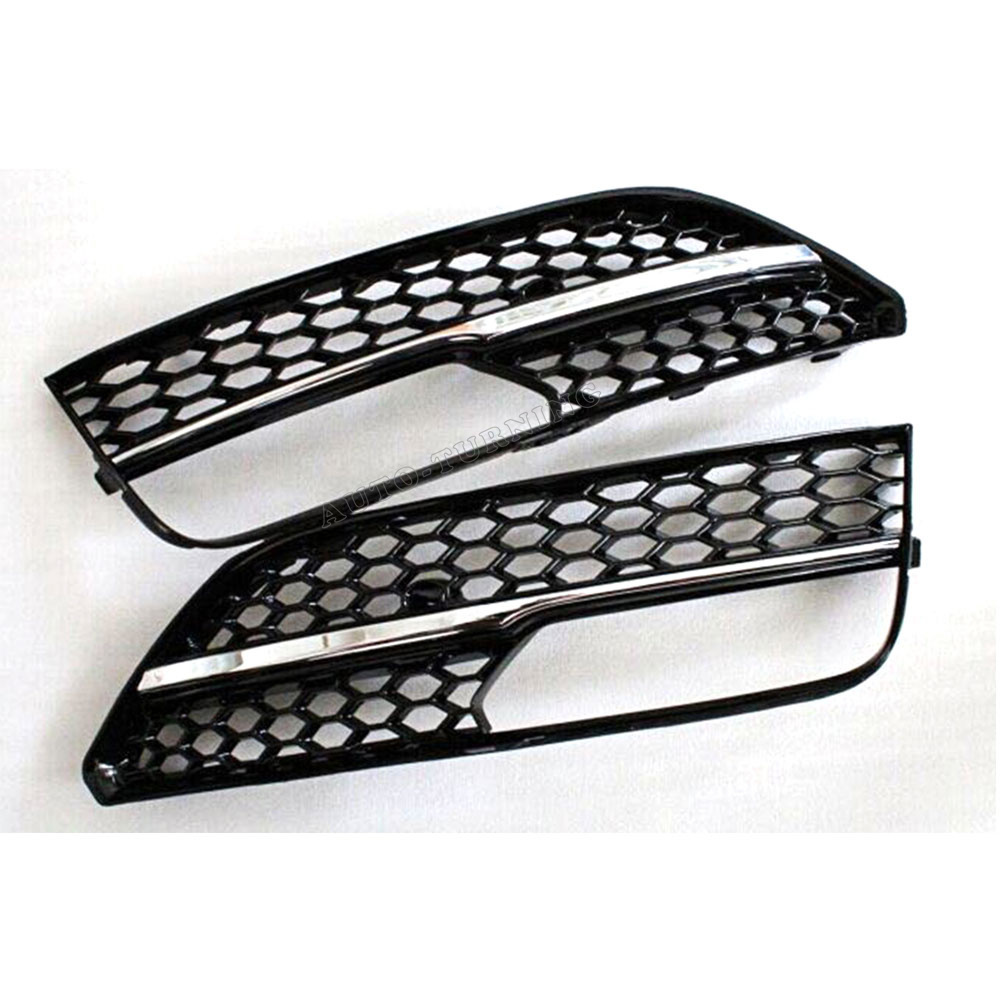 A3 RS3 Style Superior Quality ABS Fog Light  Grill Covers For Audi Standard A3 SPORTBACK bumper 2014UP<br><br>Aliexpress