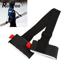 Relefree Outdoor Ski Snowboard Shoulder Hand Handle Straps Binding Protection Tie Board(China)