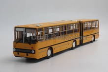 Yellow 1:43 Soviet Union IKarus-280.33M Double Bus Series Diecast Model Car IKarus 280 33M 28033M