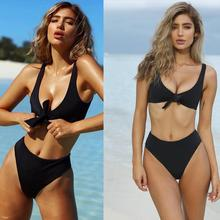 Buy 2018 Swimwear Swimsuit Push Sexy Brazilian Bikini Bandage Swimming Bathing Suit Female Beachwear maillot de bain femme