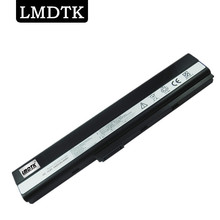 LMDTK New 6 cells laptop battery For Asus K42 K52 K42JA X42J A31-K52 A32-K52 A42J FREE SHIPPING(China)