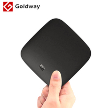 Global Version Xiaomi Mi Box 3 Android 6.0 Smart Set-top TV Box Quad Core Youtube Netflix 4K DTS Dolby HDR Media Player HDMI(Hong Kong)