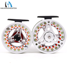 Maximumcatch 5/6WT & 7/8WT Fly Reel Combo Silver BLC Pre-Spooled Fly Fishing Reel &  Fly Line