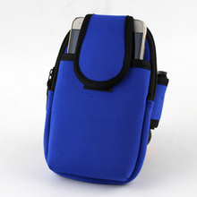 Nylon Outdoor Gym Sports Fitness Running Jogging Climbing Arm Pouch Bag Holder for Mobile Cellphone Keys Credit Bank Name Card