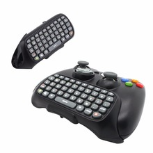 In stock! 1pc Wireless Controller Messenger Game Keyboard Keypad ChatPad For XBOX 360 Black Newest