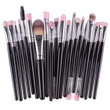20 Pcs Professional Make Up Brushes Set De maquiagem Makeup Brush Set Tools Cosmetics Toiletry Kit Tools Accessories EE4JH2 B2