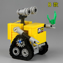 MOC Wall E Cartoon Movie Robot EVE Action Figures SUPER HEROES STAR WARS Assemble Building Blocks Bricks Kids Toys Gifts