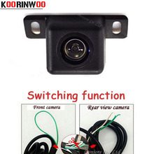 Koorinwoo Switching function Car rear view camera / front form Camera Parking system assistance Vehicle Backup reversing Cam(China)