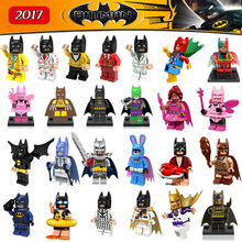 New Comics Marvel SuperHeroes DC Universe The Dark Knight Batman LEPIN Bruce Wayne mini dolls Blocks model & building toys