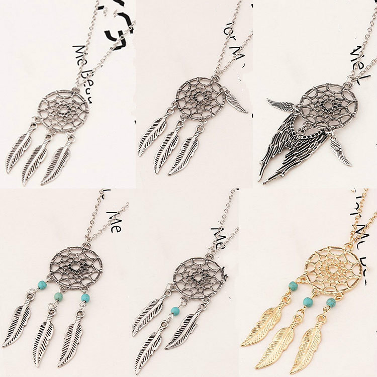 Women Elegant Europe and America Hollow Bird Pendant Fashion Silver Jewelry Luminous Necklace Jewelry Home & Kitchen Color : Blue