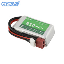 GDSZHS 11.1V 850mAh 30C 3S Lipo Battery T plug For RC Models Airplane Helicopter Car Boat Quadcopter(China)