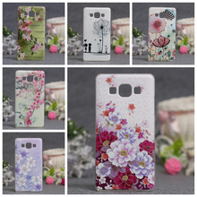 Luxury Phone Cover For Samsung Galaxy A5 2015 Cases 3D Relief Painting Soft Silicone Back Cover Case for Samsung A5 A500F A500M