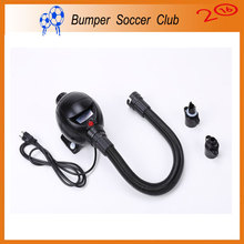 Free shipping 800W Electric Air Pump Air Blower For Bubble Soccer,Bumper Ball,Bubble Football,Water Roller Ball,Zorbing Ball