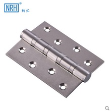 Stainless steel 4 inch Thick wooden door hinge Bearing hinge Hardware accessories Stainless steel wire drawing 6 optional