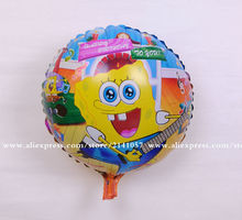 inflatable animal Sponge Bob Shape foil balloons Spongebob Birthday Party Supplies