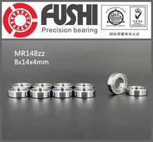 MR148ZZ Bearing ABEC-1 (10PCS) 8*14*4 mm Miniature MR148-2Z Ball Bearings MR148 ZZ L-1480ZZ MR148Z(China)