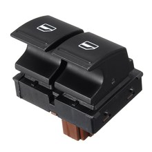 Car Driver Side Electric Window Doubble Button Switch For SKODA FABIA MK2 2006-2014 ROOMSTER 2006-2015