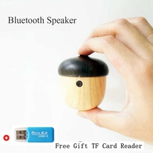 Toproad Wireless Bluetooth Speaker Nut Shape Mini Speaker Cute Wooden Outdoor Sport Travel Speaker for Phone Samsung Xiaomi(China)