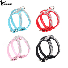 Dog Collar Harness Fashion Pet Collar Necklace For Pet Adjustable Quick Release Puppy Shining diamond Rhinestone Sparkly XS-L A