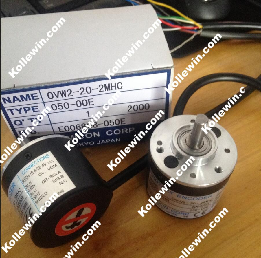 OVW2-20-2MHC within the control of incremental photoelectric encoder, 2000 pulse performance stability, new in box.<br>