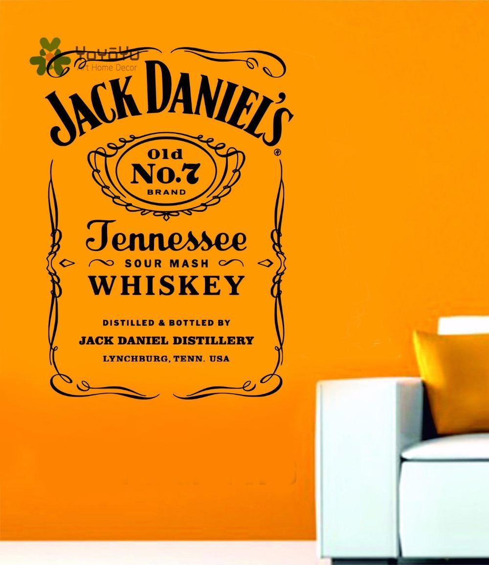 HTB1 .I XfxNTKJjy0Fjq6x6yVXad - YOYOYU Wall Decals Jack Daniels JD Wall Art Sticker