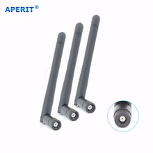 Aperit 3 2dBi Dual Band WiFi RP-SMA Antennas Omni Directional Long Range for Asus Amped D-Link TP-Link Router