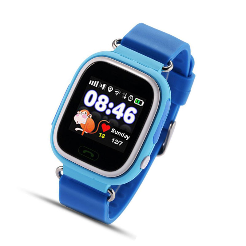 GPS Tracker Watch Baby Watch with Wifi Touch Screen SOS Button Location DeviceTracker Kid Safe Anti-Lost Monitor Android&amp;IOS<br><br>Aliexpress