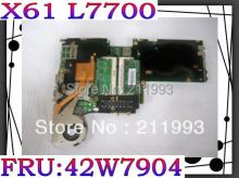 Good Quality for X61 With CPU L7700 Series 42W7904 Laptop Motherboard 100% fully tested