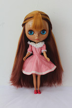 Free Shipping Top discount 4 COLORS BIG EYES DIY Nude Blyth Doll item NO. 168 Doll limited gift special price cheap offer toy