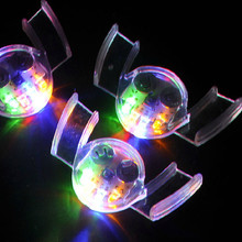 Wholesale Interesting LED Light-up Toys for Carnival Festival Party 10pcs Set Colorful Flashing Brace Mouth Guard