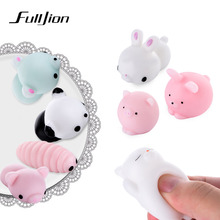 Fulljion Slime Entertainment Antistress Squishy Cat Animal Stress Relief Toys Novelty Gags Practical Jokes Gadget Fun Lizun Play