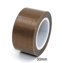 1 Roll High Temperature PTFE Teflon Adhesive Tape 30mm x10meter * 0.13mm(T)